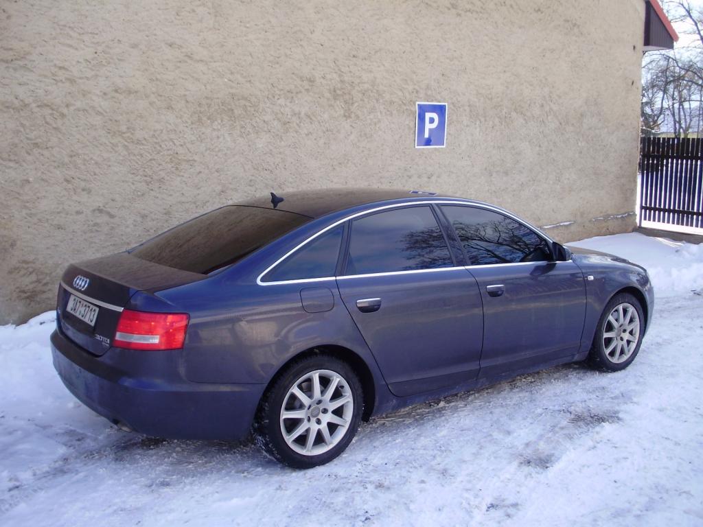 Audi A6 - protislunecni autofolie Llumar AT20CH