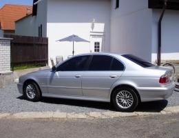 BMW 5 - protislunecni autofolie Llumar AT5