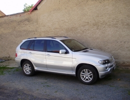 BMW X5 - protislunecni a bezpecnostni autofolie Llumar bezp. 100 + AT35