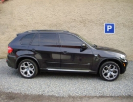BMW X5 - protislunecni autofolie Llumar AT20CH