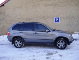BMW X5 - protislunecni autofolie Llumar AT5,15,35