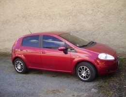 Fiat Punto - protislunecni autofolie Llumar AT15