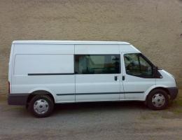 Ford Transit - bezpecnostni autofolie Llumar