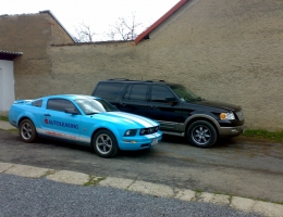 Ford mustang+expedition
