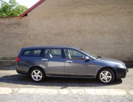 Honda Accord combi - bezpecnostni autofolie Llumar 100um