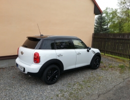 Mini Cooper Countryman - autofolie Llumar AT15