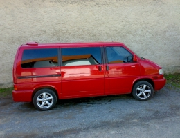 VW Transporter instalace protislunecni autofolie Llumar AT5CH,35CH