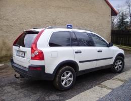 Volvo XC90 instalace protislunecni autofolie Llumar AT5,15,35