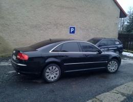 Audi A8 - protislunecni autofolie Llumar AT5