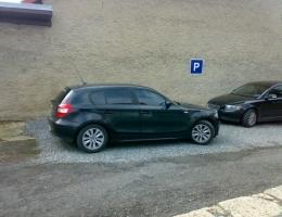 BMW 1 - protislunecni autofolie Llumar AT15,35
