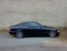 BMW 3 cupe - protislunecni autofolie Llumar AT5
