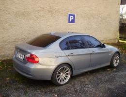 BMW 3 - protislunecni autofolie Llumar AT15