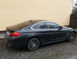 BMW 4 cupe s autofóliemi LLumar AT35GR