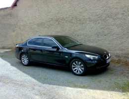 BMW 5 - protislunecni autofolie Llumar AT5,15