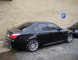 BMW M5 - protislunecni autofolie Llumar AT35