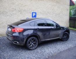 BMW X6 - protislunecni autofolie Llumar AT35CH