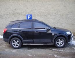 Chevrolet Captiva - protislunecni autofolie Llumar AT15,35