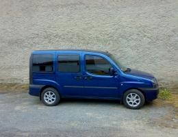 Fiat Doblo - protislunecni autofolie Llumar na autosklo AT15,35