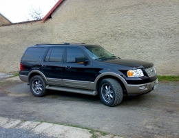 Ford Expedition - protislunecni autofolie Llumar AT5,35