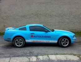 Ford Mustang - protislunecni autofolie Llumar AT5,15