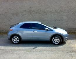 Honda Civic - protislunecni autofolie Llumar AT15,35