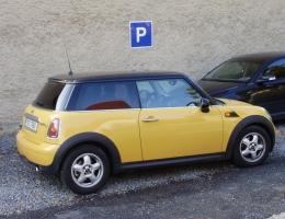 Mini Cooper - autofolie Llumar AT35