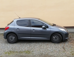 Peugeot 207 s autofoliemi Llumar AT5,35