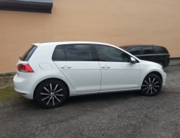 VW Golf - autofolie Llumar AT20,35ch
