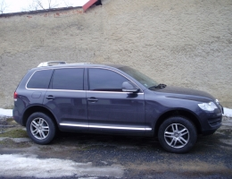 VW Touareg instalace protislunecni autofolie Llumar Sunset + AT15