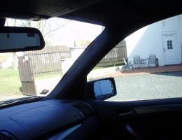 Predni dvere a celni sklo